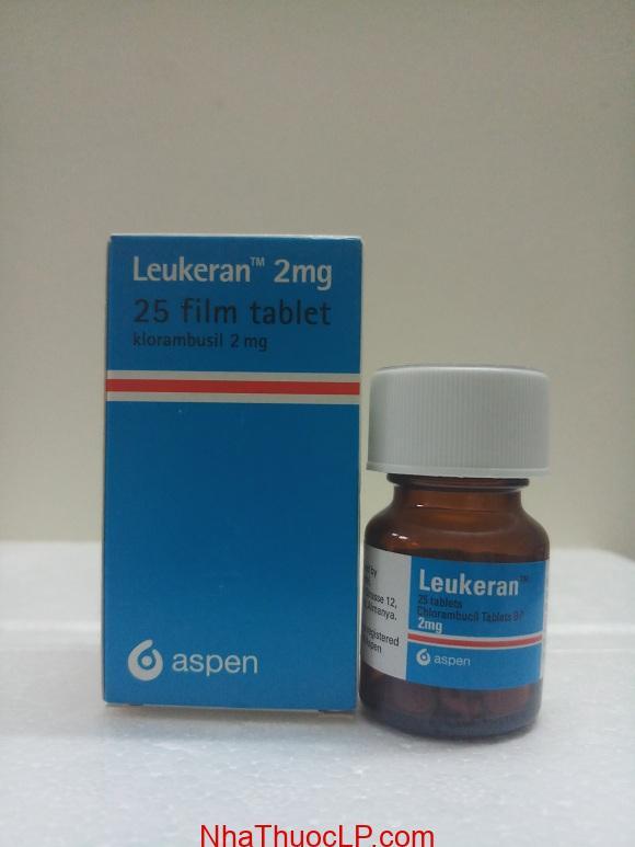 Thuốc Leukeran 2mg Chlorambucil điều trị ung thư máu (1)
