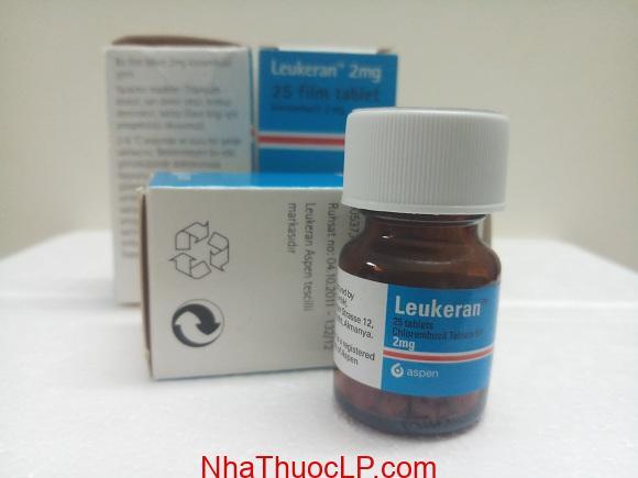 Thuốc Leukeran 2mg Chlorambucil điều trị ung thư máu (3)