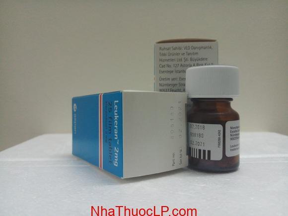Thuốc Leukeran 2mg Chlorambucil điều trị ung thư máu (5)