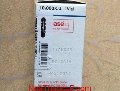 Thuốc Leunase 10.000 KU L-asparaginase bệnh bạch cầu cấp (2)