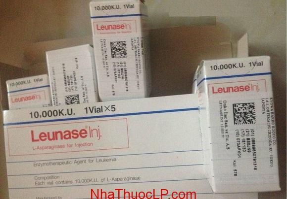 Thuốc Leunase 10.000 KU L-asparaginase bệnh bạch cầu cấp (4)