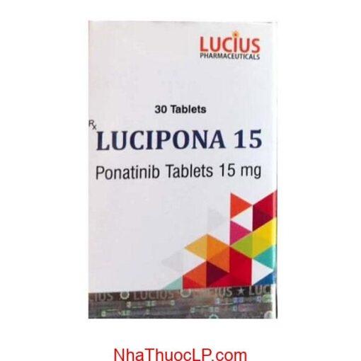 Tác dụng phụ của Lucipona