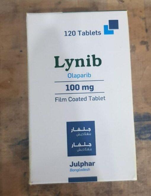 Thuốc Lynib 100mg Olaparib điều trị ung thư buồng trứng (4)