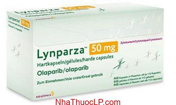 Thuốc Lynparza 50mg Olaparib điều trị ung thư buồng trứng (2)