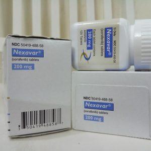 Thuốc Nexavar 200mg Sorafenib điều trị ung thư gan, thận, tuyến giáp (5)