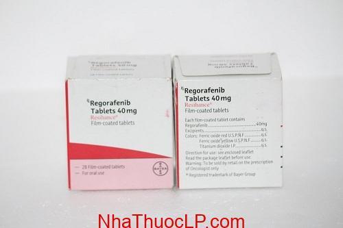 Thuốc Resihance 40mg Regorafenib điều trị ung thư gan, trực tràng (3)