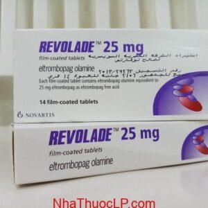 Thuốc Revolade 25mg Eltrombopag điều trị xuất huyết giảm tiểu cầu (1)