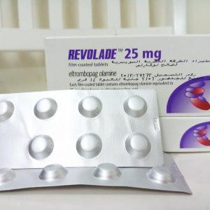 Thuốc Revolade 25mg Eltrombopag điều trị xuất huyết giảm tiểu cầu (2)