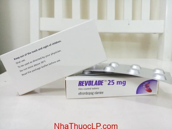 Thuốc Revolade 25mg Eltrombopag điều trị xuất huyết giảm tiểu cầu (3)