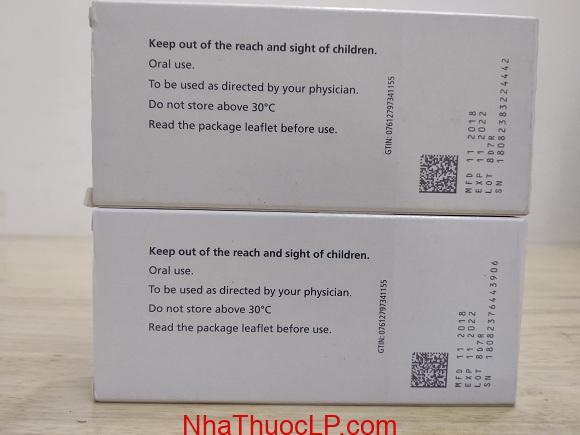 Thuốc Revolade 50mg Eltrombopag điều trị giảm tiểu cầu (2)