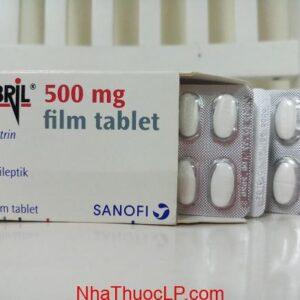 Thuốc Sabril 500mg Vigabatrin chống động kinh (1)