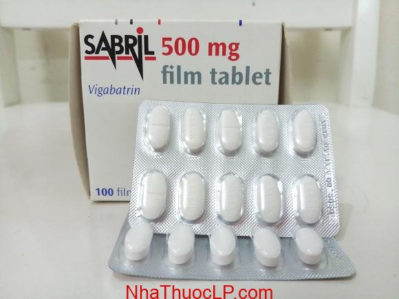 Thuốc Sabril 500mg Vigabatrin chống động kinh (2)