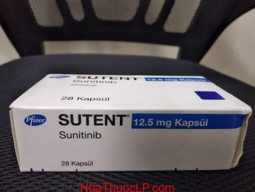 Thuoc Sutent 12 5mg Sunitinib dieu tri ung thu ruot tuyen tuy hoac than (2)