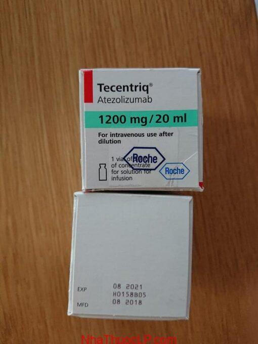 Thuốc Tecentriq 1200mg/20ml Atezolizumab điều trị ung thư biểu mô tiết niệu, ung thư phổi (NSCLC) (4)