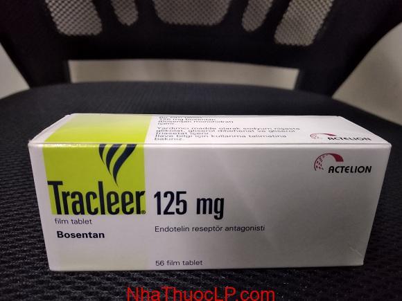 Thuốc Tracleer 125mg Bosentan điều trị tăng huyết áp động mạch phổi (1)
