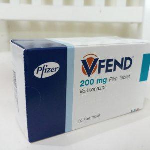 Thuốc Vfend 200 mg Voriconazole điều trị nhiễm trùng do nấm (4)