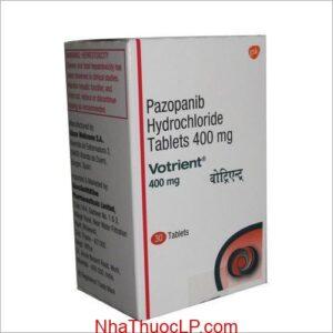 Thuốc Votrient 400mg Pazopanib điều trị ung thư thận (3)