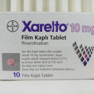 Thuốc Xarelto 10mg Rivaroxaban phòng ngừa huyết khối tĩnh mạch (1)