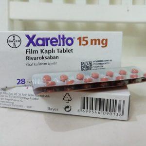 Thuốc Xarelto 15mg Rivaroxaban điều trị và ngăn ngừa cục máu đông (3)