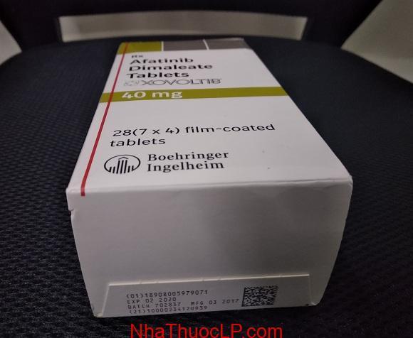 Thuốc Xovoltib 40mg Afatinib điều trị ung thư phổi (4)
