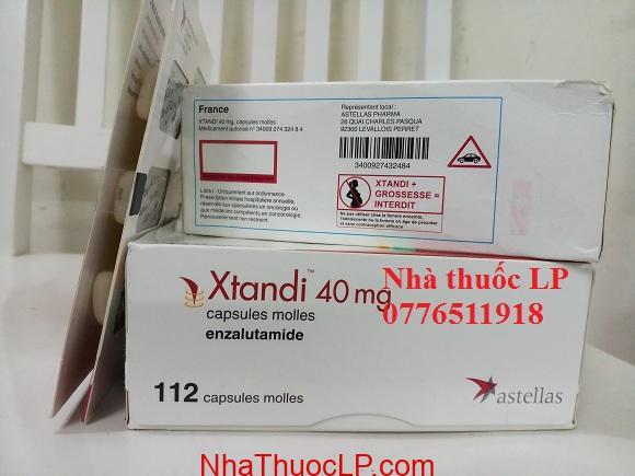 Thuốc Xtandi 40mg Enzalutamide điều trị ung thư tuyến tiền liệt (3)
