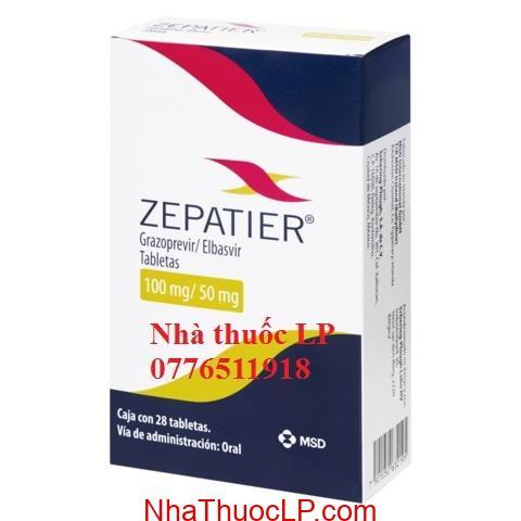 Thuốc Zepatier 50mg/100mg Elbasvir và grazoprevir điều trị Viêm Gan C (3)