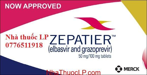 Thuốc Zepatier 50mg/100mg Elbasvir và grazoprevir điều trị Viêm Gan C (4)