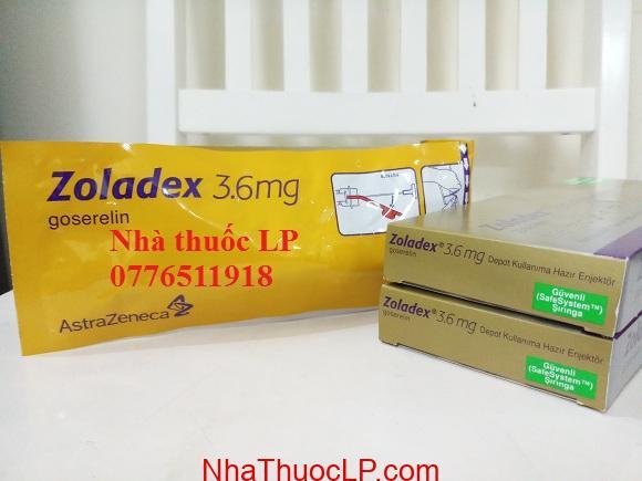 Thuốc Zoladex 3.6mg Goserelin điều trị ung thư tiền liệt tuyến (2)