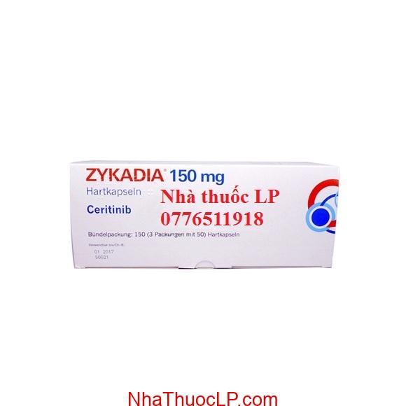 Thuốc Zykadia 150mg Ceritinib điều trị ung thư phổi (1)