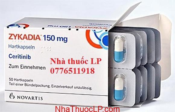 Thuốc Zykadia 150mg Ceritinib điều trị ung thư phổi (2)