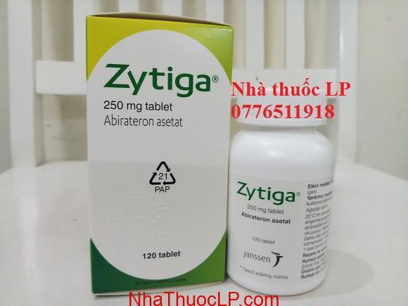 Thuốc Zytiga 250mg Abiraterone điều trị ung thư tiền liệt tuyến (4)