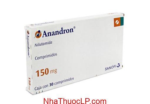 Thuoc Anandron 150mg Nilutamid dieu tri ung thu tuyen tien liet