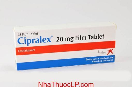 Thuoc Cipralex 20mg Escitalopram dieu tri tram cam (1)
