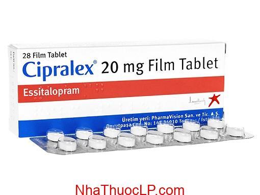 Thuoc Cipralex 20mg Escitalopram dieu tri tram cam (2)