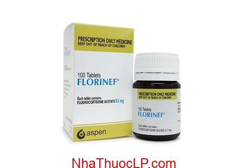 Thuoc Florinef acetate 0 1mg Fludrocortison acetate (2)