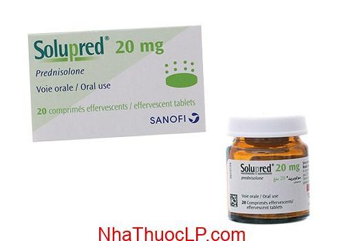 Thuốc Solupred 20mg Prednisone điều trị viêm khớp, viêm da hay dị ứng (2)
