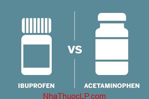 Thuoc giam dau Ibuprofen so voi aspirin va acetaminophen (4)
