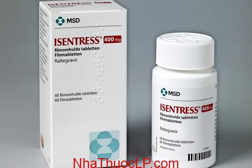 Thuoc Isentress 400mg Raltegravir dieu tri HIV (1)