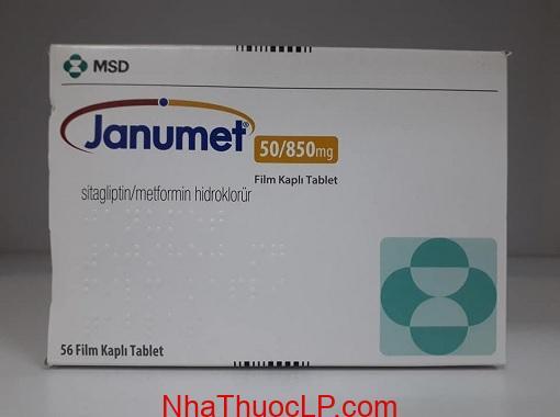 Thuoc Janumet 50850mg Sitagliptin va Metformin (1)