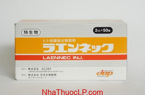 Thuoc Laennec 112 mg Placenta Extract (Human) cai thien suc khoe (1)