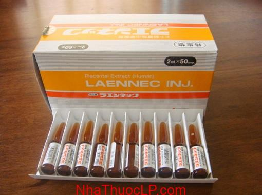 Thuoc Laennec 112 mg Placenta Extract (Human) cai thien suc khoe (3)