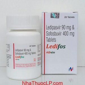 Thuoc Ledifos 90mg 400mg Ledipasvir Sofosbuvir dieu tri viem gan C (1)
