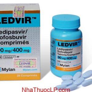 Thuoc Ledvir 90mg 400mg Ledipasvir Sofosbuvir dieu tri viem gan C (2)