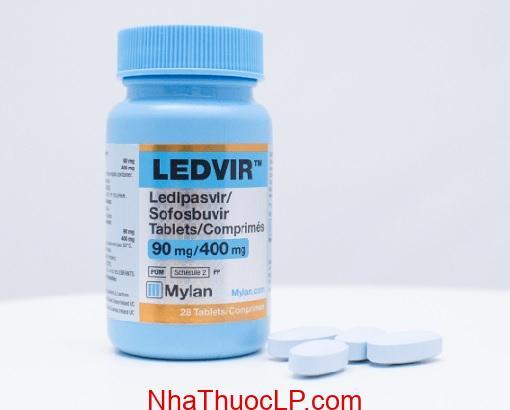 Thuoc Ledvir 90mg 400mg Ledipasvir Sofosbuvir dieu tri viem gan C (3)