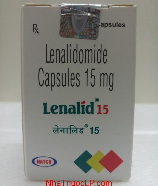 Thuoc Lenalid 10mg 15mg Lenalidomide dieu tri ung thu mau (3)