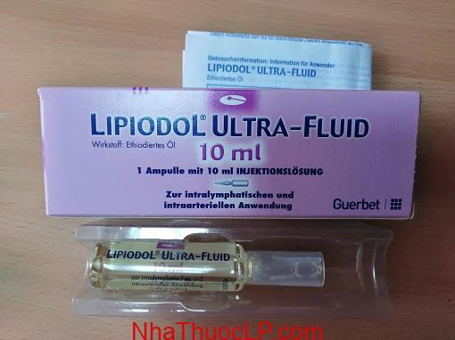 Thuoc Lipiodol 10ml Ethiodized oil (1)