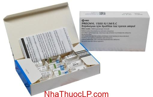 Thuoc Pregnyl 1500iu Human Chorionic Gonadotrophin HCG dieu tri vo sinh (1)