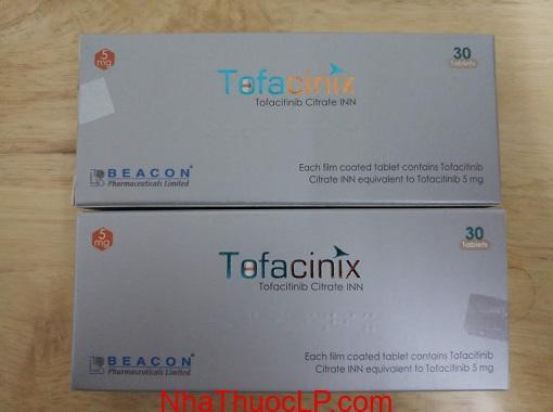 Thuoc Tofacinix 5mg Tofacitinib dieu tri viem khop dang thap (2)