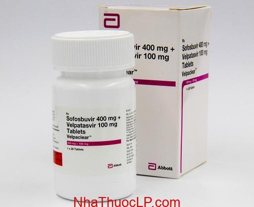 Thuoc Velpaclear 400mg 100ng Sofosbuvir Velpatasvir (1)