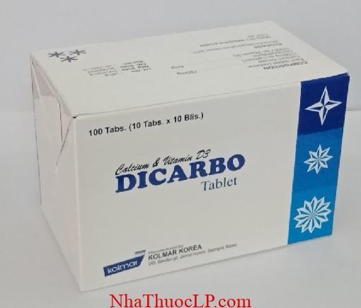 Thuốc Dicarbo bổ sung calci và vitamin D cho cơ thể (2)